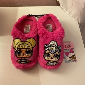 BRAND NEW L.o.L slippers 13/1 OR 2/3